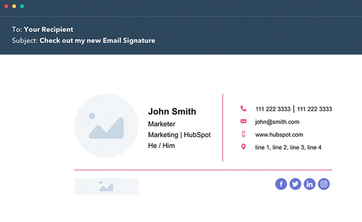Itm Tech Free Email Signature Generator