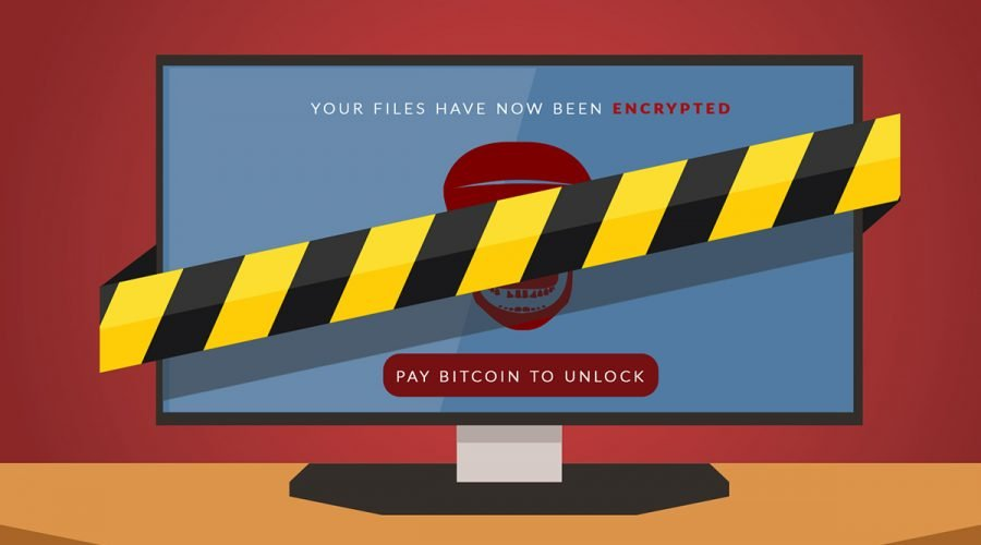 ransomware PC graphic